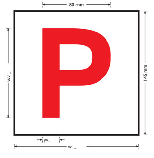 p-plate