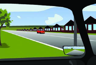 Selecting safe gaps when turning, crossing traffic or changing lanes.