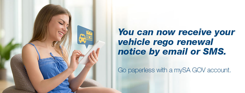 Go paperless with a mySA GOV account