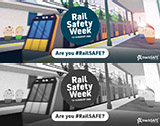 Rail Safety Week 10-16 August 2020 - Are you #RailSAFE?