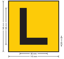 My Licence My Car Licence Learner S Stage L