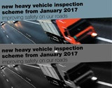 Heavy vehicle inspections required on change of ownership from 2017