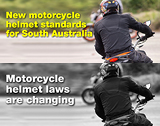 New motorcycle helmet standards for South Australia