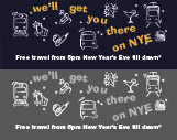 Ride free for New Year's Eve celebrations