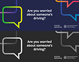 Are you worried about someone's driving?