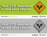 Your CTP insurance is now your choice